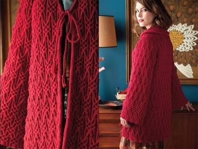 #8 Textured Jacket, Vogue Knitting Winter 2012.13