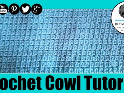 Crochet Cowl Lazy Cluster Tutorial