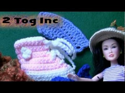Crochet Pattern: 2 Tog Increase - LH