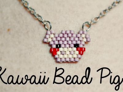 DIY Cute Bead Pig! ¦ The Corner of Craft