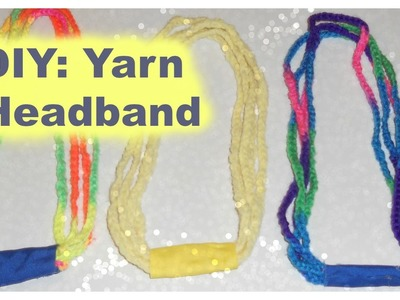 DIY: Easy Yarn Headbands