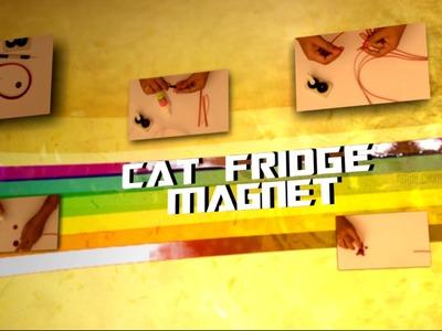 DIY : Fridge Magnet - Cat Design | Quilling Tutorial | Paper Quilling Fridge Magnets