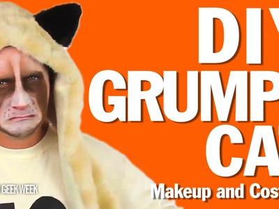 DIY Grumpy Cat Makeup and Costume How-To