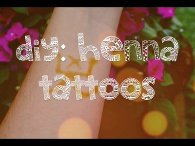 "DIY ""Henna"" Tattoos with Kool-Aid 