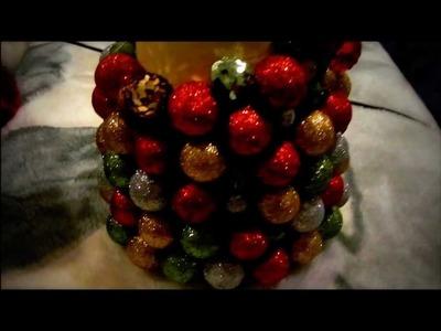 DIY - Homemade Christmas Tree - Decor!