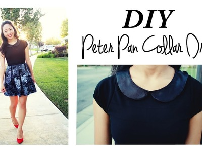 DIY Peter Pan Collar Dress