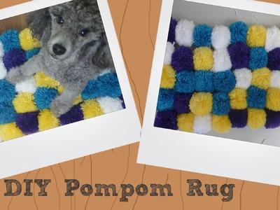 DIY Pompom Rug | Tips for the Perfect Pompom