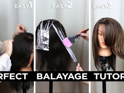 DIY Step by Step Perfect At Home Balayage Tutorial