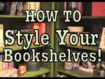 DIY: Style A Bookcase | #Roomspiration