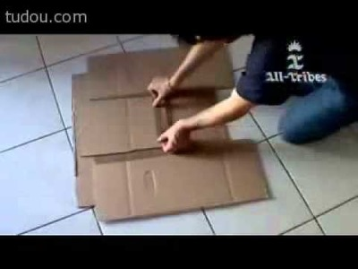 DIY the FlipFold Clothing Folding Board sheldon use in the  Laundry room in big bang theory.flv