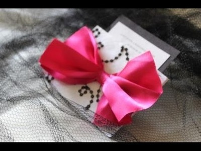 DIY Wedding Invitation:  Handmade Wedding Card