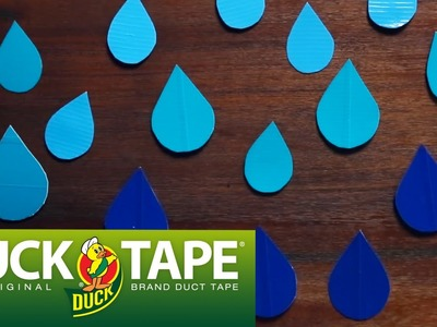 Duck Tape Crafts: How to Make a Wall Decal with Mr.Kate