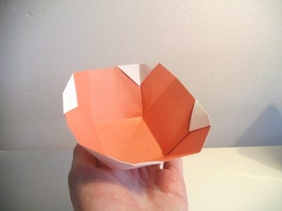 Easy Origami Bowl Tutorial