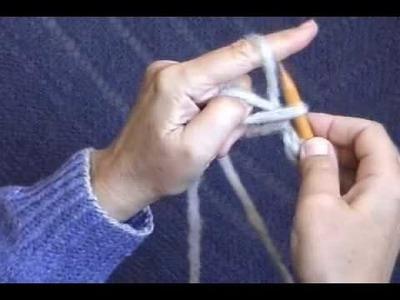 Elizabeth Zimmermann. Meg Swansen ~ Knitting, 1.24 (source for animation)