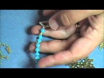 Flat Spiral Stitch Bracelet