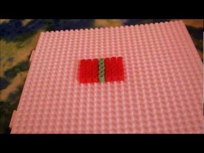 Hama.Perler Beads Christmas Present Tutorial