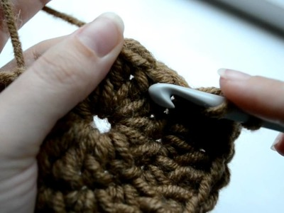 How to crochet a circle with three rounds - Part 2 of 3