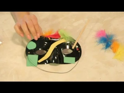 How to Decorate Masks for Kids : Easy Crafts