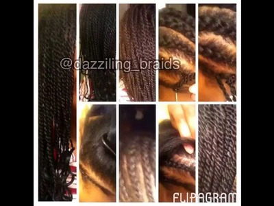 How to do Crochet Senegalese twist