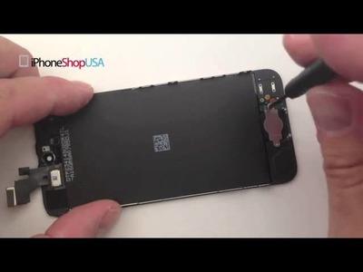 How To Fix Replace Repair iPhone 5 Broken Glass Screen + LCD DIY