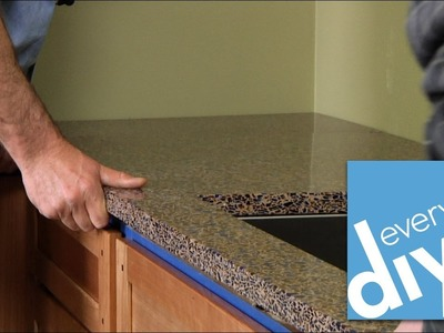 How to Install a Kitchen Countertop -- Buildipedia DIY