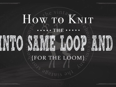 How to Knit Basic Increases for the Loom {YO, KFB, P1,K1,P1 into Same Loop}