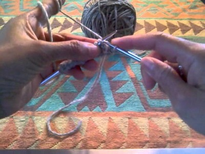 How To Knit Part 4: Knitting Continental method - Knitting instruction for beginner