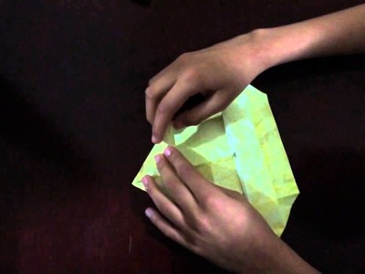 How to make a origami golden Eagle