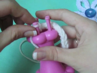 How to Make an I-Cord on a Loom!