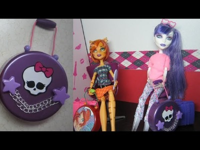 How to Make Doll Luggage or Suitcase - Really Works - Doll Crafts