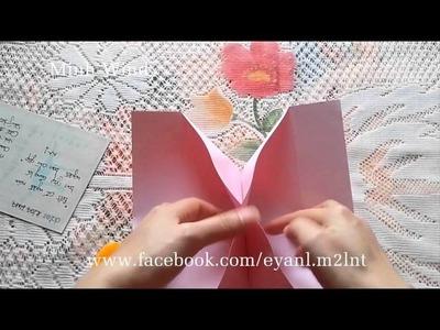 [How to make] How to Make an Origami Photo Frame -  Hướng dẫn làm khung ảnh bằng giấy A4