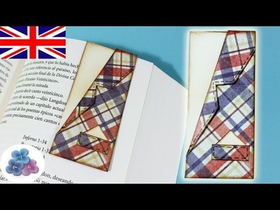 How to make Magnetic Book Marks DIY *Father's Day* Gift for Men *Gift for Boyfriend Scrap Mathie