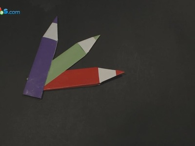 How To Make Origami Pencil