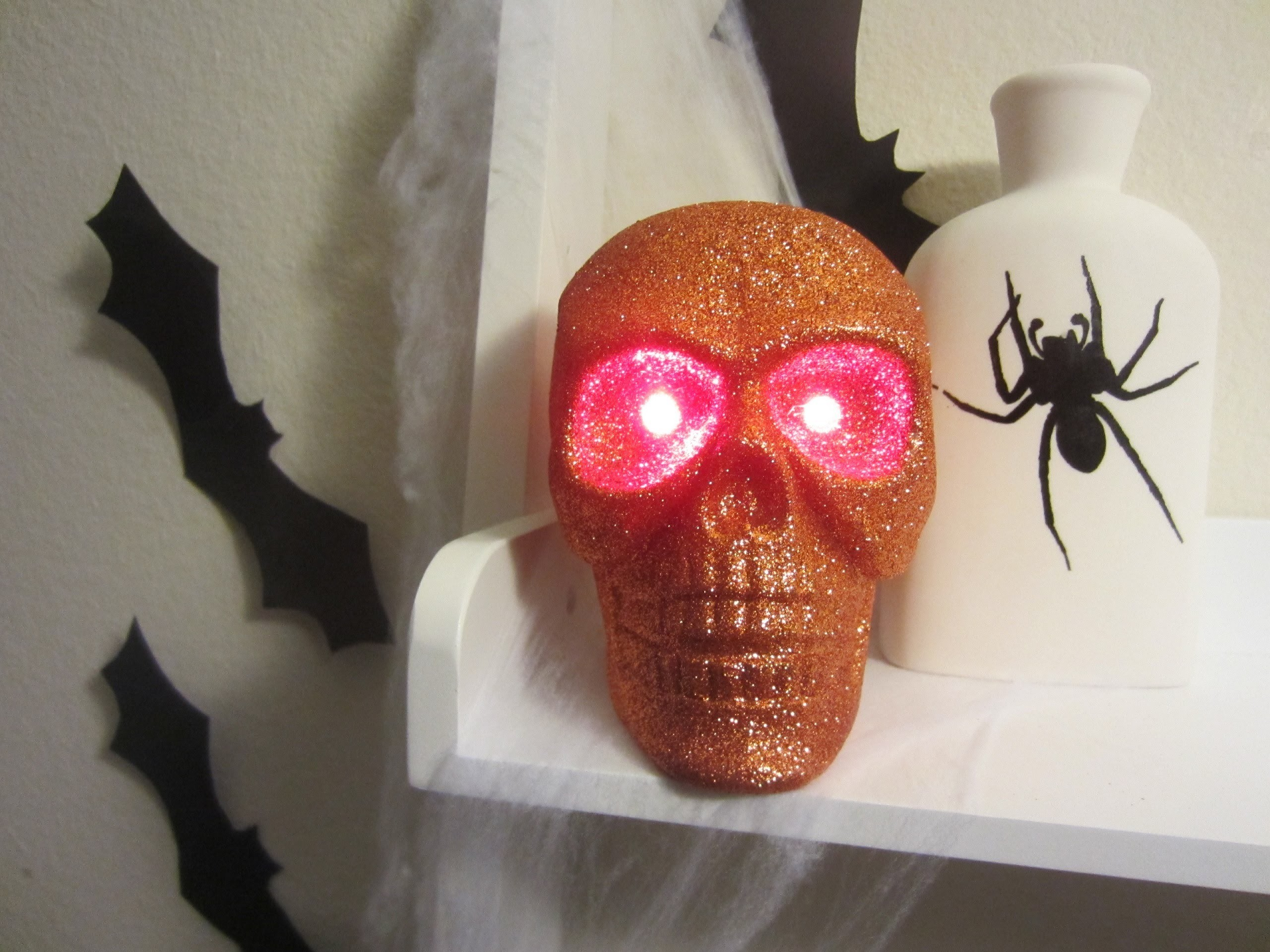 Indoor Halloween Decorations Tour and Easy DIY Decor!