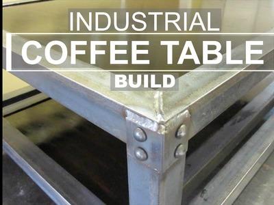 Industrial Coffee Table Build - DIY