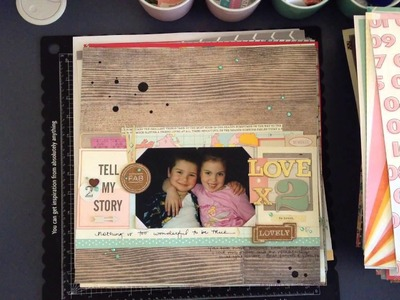 My completed Scrapbooking layouts - 2014