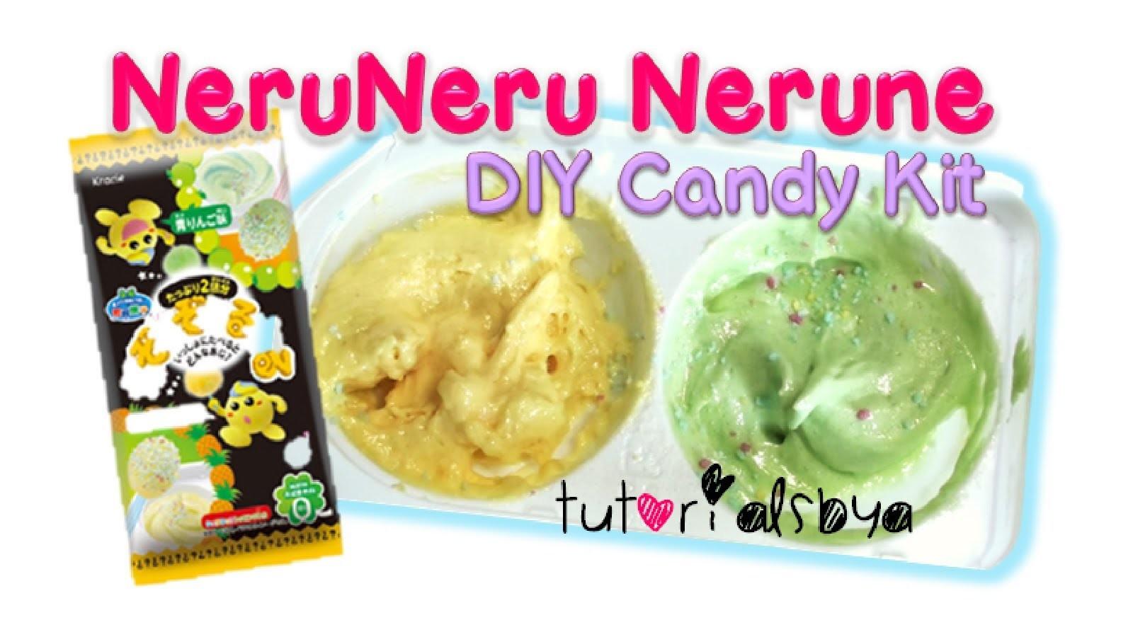 NeruNeru Nerune Apple.Pineapple DIY Japanese Candy Tutorial | How To