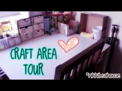 Nikki's Craft Area Tour!
