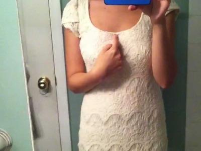 OOTD Crochet Dress