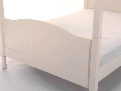 Opt for the Sturdy and Stylish Catalina Canopy Bed for Child's Bedspace | Pottery Barn Kids
