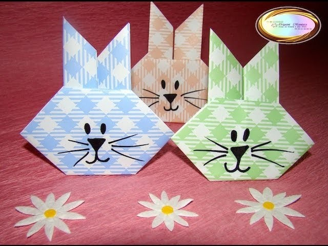 Origami Maniacs 111: Easter Bunny