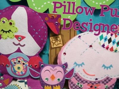 Pillow Puffs Designer: No-Sew Felt Crafts for Kids