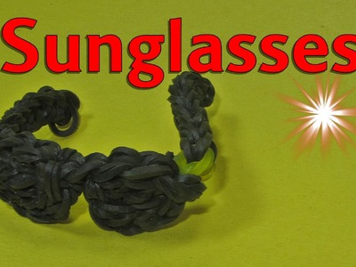 Rainbow Loom: Sunglasses: How to Design. Tutorial