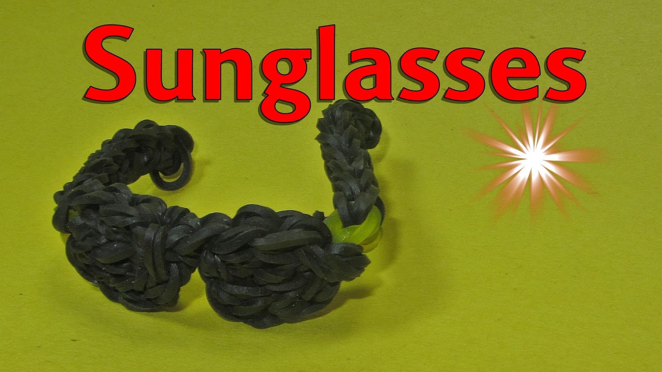 Rainbow Loom: Sunglasses: How to Design. Tutorial