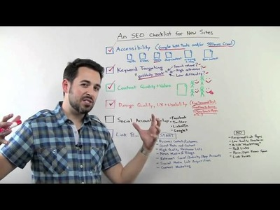 SEO Checklist for New Websites - DIY Search Engine Optimization