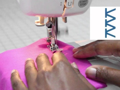 Sew Knits without a Serger: The Elastic Overlock Stitch