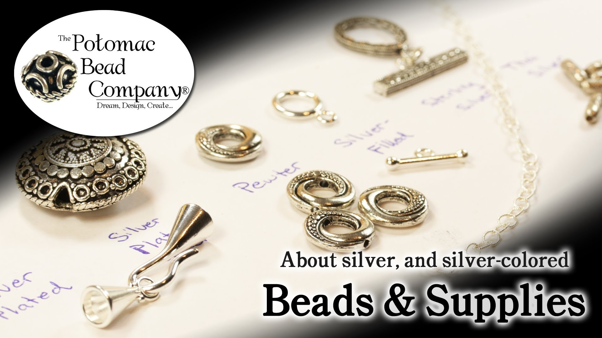 About Silver & Silver Colored Beads and Findings