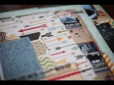 Batch Scrapbooking - 3 pages with the April Best of Both Worlds kit