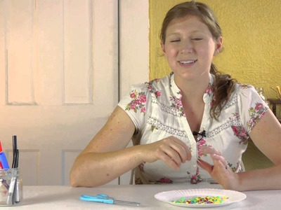 Bead Friendship Bracelet Lesson for Preschoolers : Crafts for Kids