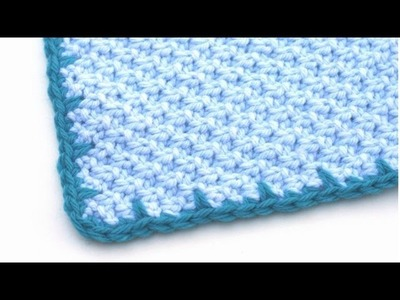 Crochet for Knitters - Spiked Edging